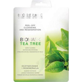 le masque peel off des laboratoires biodermic enrichi en extraits naturels de th vert. Black Bedroom Furniture Sets. Home Design Ideas